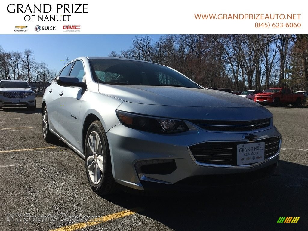 2018 Malibu LT - Arctic Blue Metallic / Jet Black photo #1