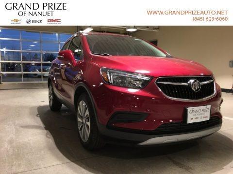 Winterberry Red Metallic 2018 Buick Encore Preferred