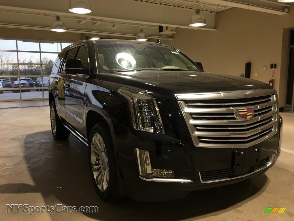 Black Raven / Shale/Jet Black Cadillac Escalade Platinum 4WD