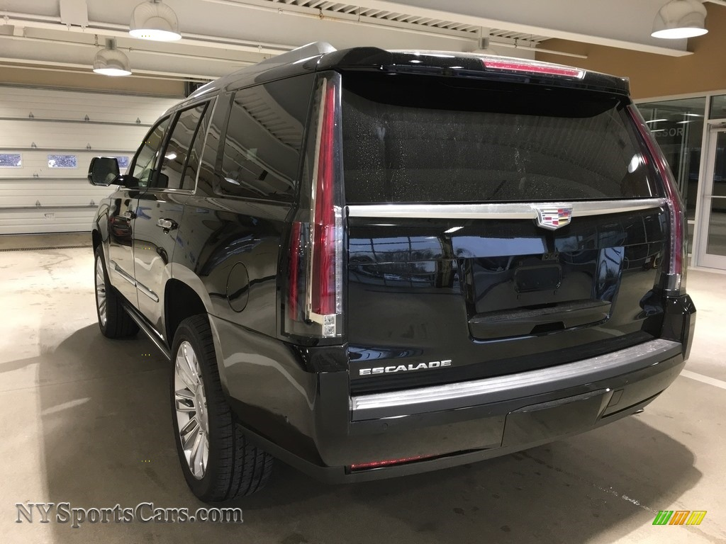 2018 Escalade Platinum 4WD - Black Raven / Shale/Jet Black photo #4