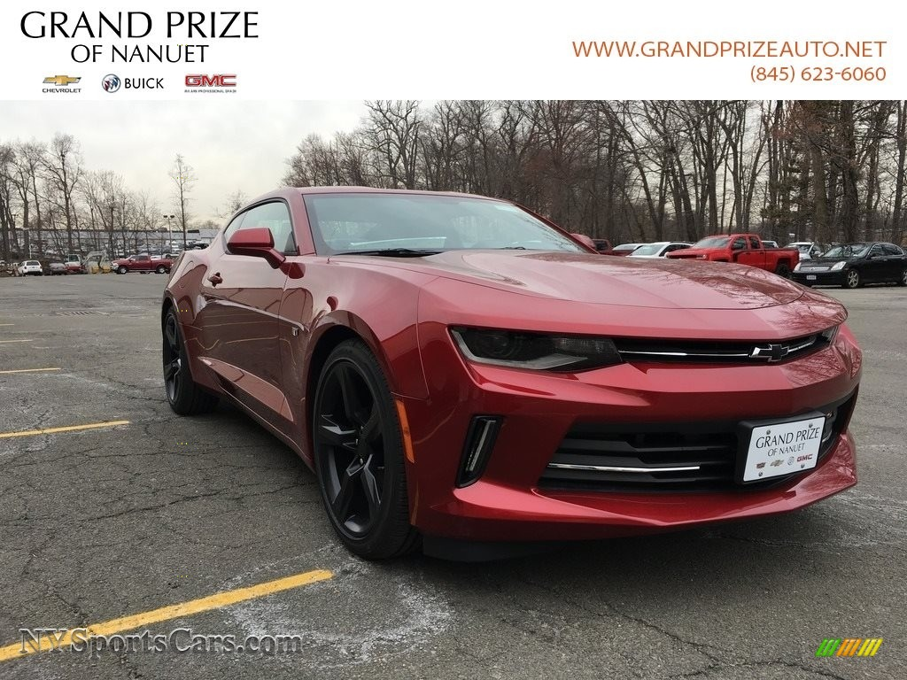 2018 Camaro LT Coupe - Garnet Red Tintcoat / Jet Black photo #1