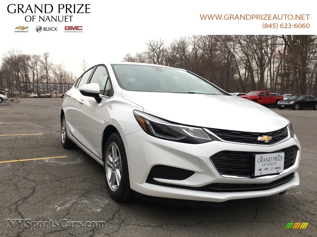 2018 Cruze LT - Summit White / Jet Black photo #1