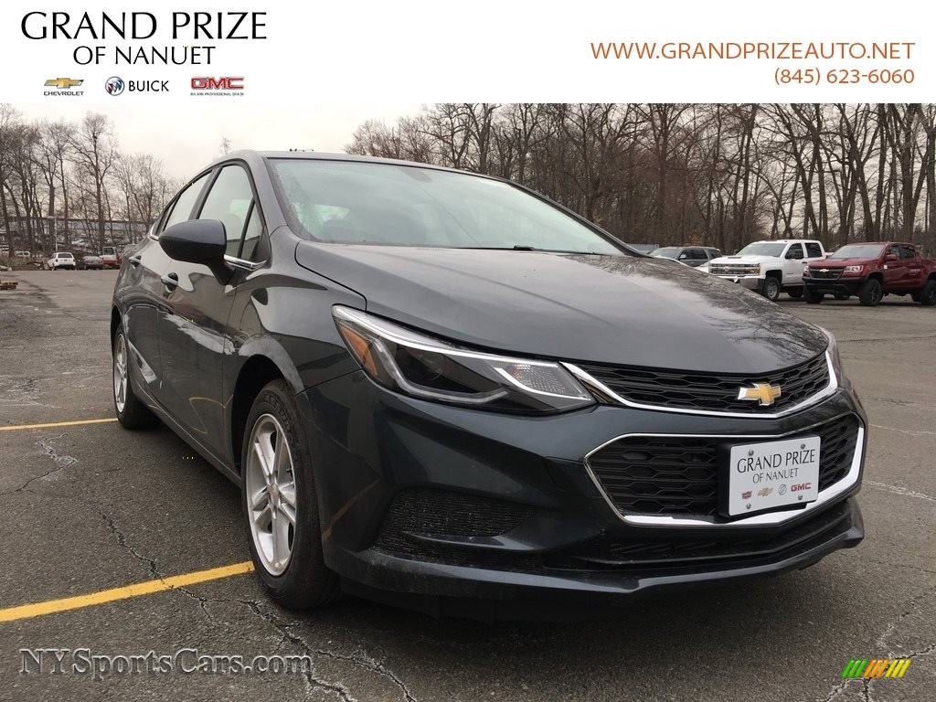 2018 Cruze LT - Graphite Metallic / Jet Black photo #1