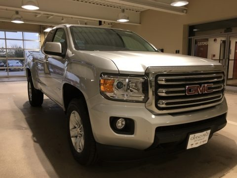 Quicksilver Metallic 2017 GMC Canyon SLE Extended Cab 4x4