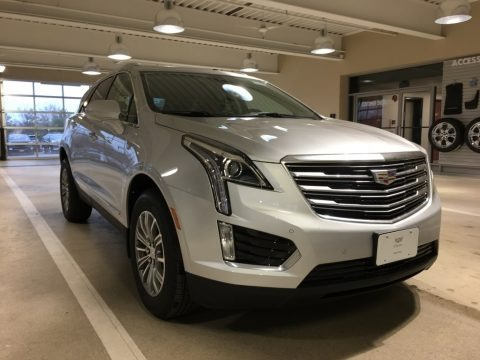 Radiant Silver Metallic 2018 Cadillac XT5 Luxury AWD