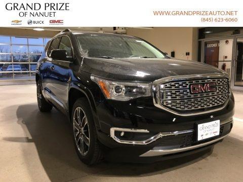 Ebony Twilight Metallic 2018 GMC Acadia Denali AWD