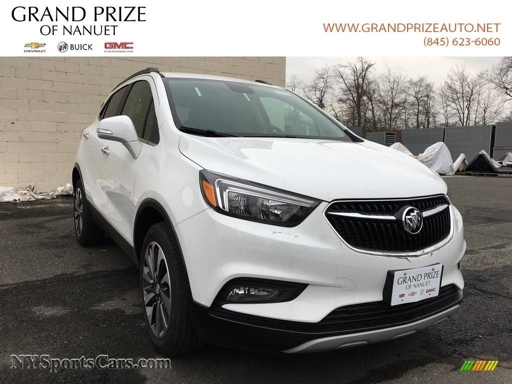 Summit White / Ebony Buick Encore Preferred II AWD