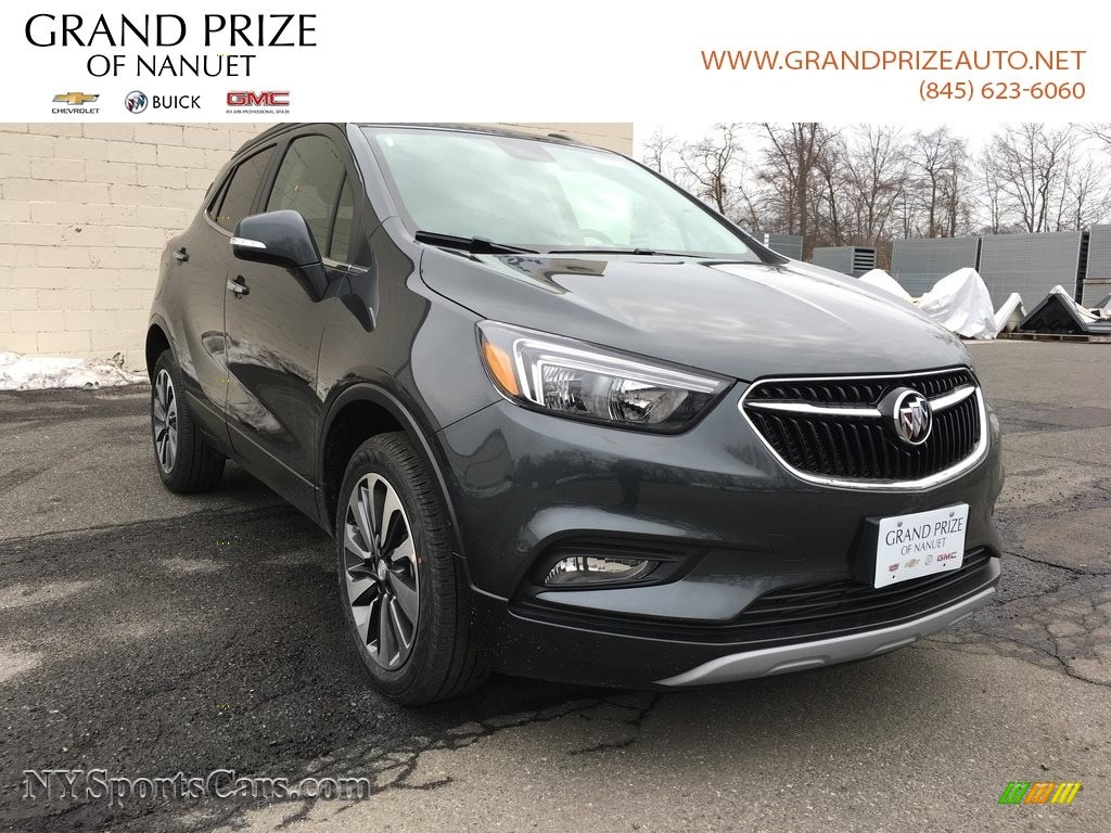 2018 Encore Preferred II AWD - Graphite Gray Metallic / Ebony photo #1
