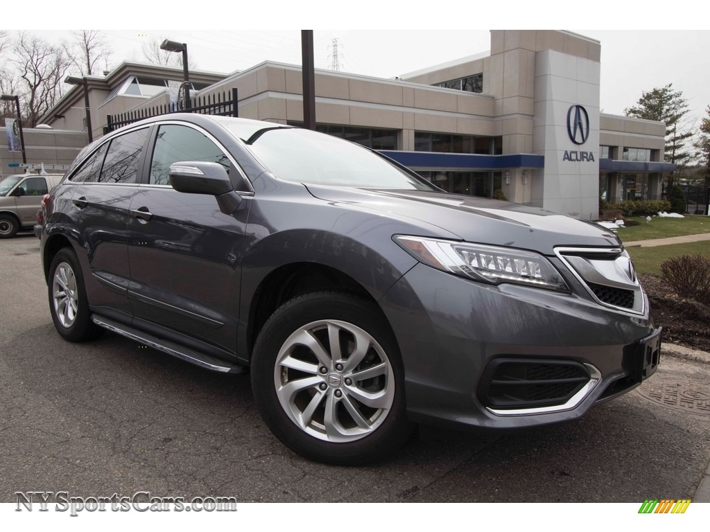 2017 RDX Technology AWD - Modern Steel Metallic / Graystone photo #1