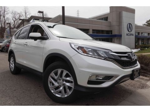White Diamond Pearl 2015 Honda CR-V EX