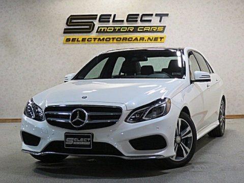 Diamond White Metallic 2014 Mercedes-Benz E 350 4Matic Sedan