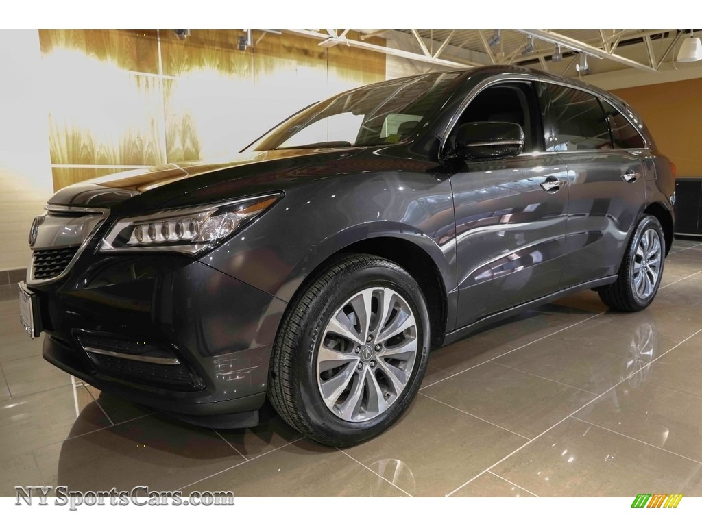 2015 MDX SH-AWD Technology - Graphite Luster Metallic / Graystone photo #1