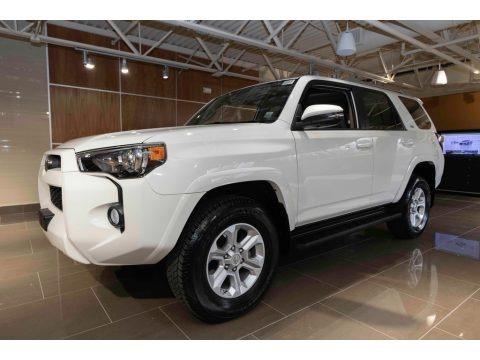 Super White 2015 Toyota 4Runner SR5 Premium 4x4