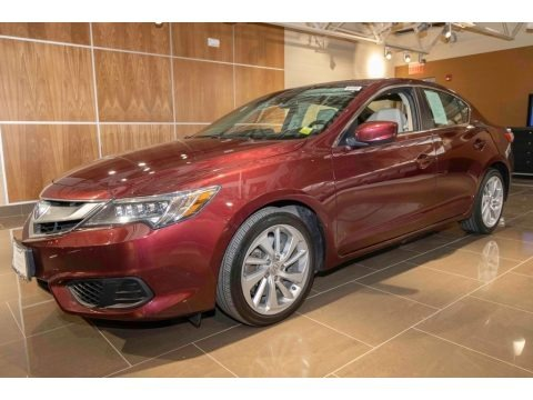 Basque Red Pearl II 2016 Acura ILX Premium
