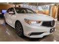 Acura TLX V6 Technology Sedan Bellanova White Pearl photo #8