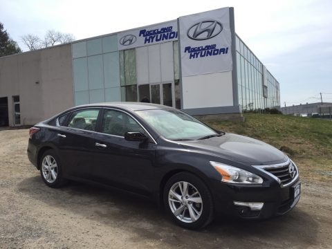 Super Black 2015 Nissan Altima 2.5 SV