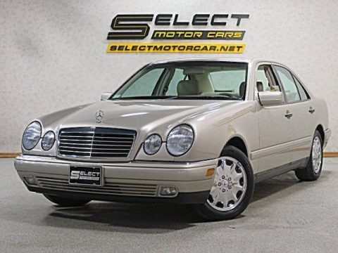 Smoke Silver Metallic 1999 Mercedes-Benz E 320 Sedan