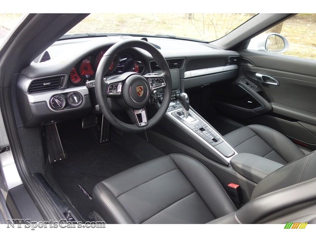 2017 911 Carrera 4S Cabriolet - GT Silver Metallic / Black photo #12
