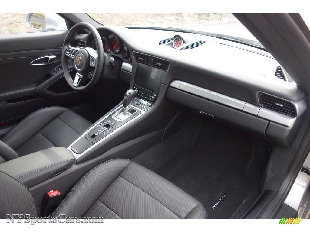 2017 911 Carrera 4S Cabriolet - GT Silver Metallic / Black photo #16