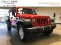 Jeep Wrangler Unlimited Sport 4x4 Firecracker Red photo #1