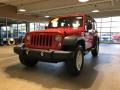 Jeep Wrangler Unlimited Sport 4x4 Firecracker Red photo #2
