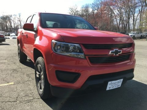 Red Hot 2018 Chevrolet Colorado WT Crew Cab 4x4