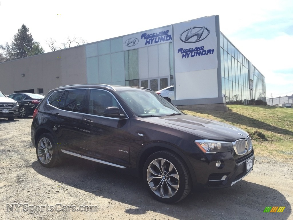 2015 X3 xDrive28i - Sparkling Brown Metallic / Saddle Brown photo #1