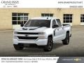 Chevrolet Silverado 1500 Custom Crew Cab 4x4 Summit White photo #1