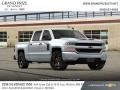 Chevrolet Silverado 1500 Custom Crew Cab 4x4 Summit White photo #4