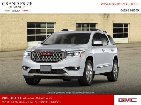Quicksilver Metallic 2018 GMC Acadia Denali AWD