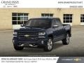 Chevrolet Silverado 1500 LTZ Crew Cab 4x4 Centennial Blue Metallic photo #1