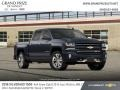Chevrolet Silverado 1500 LTZ Crew Cab 4x4 Centennial Blue Metallic photo #4