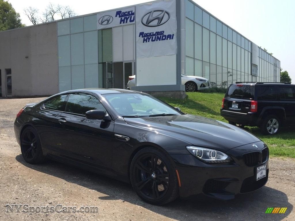 2015 M6 Coupe - Black Sapphire Metallic / Black photo #1