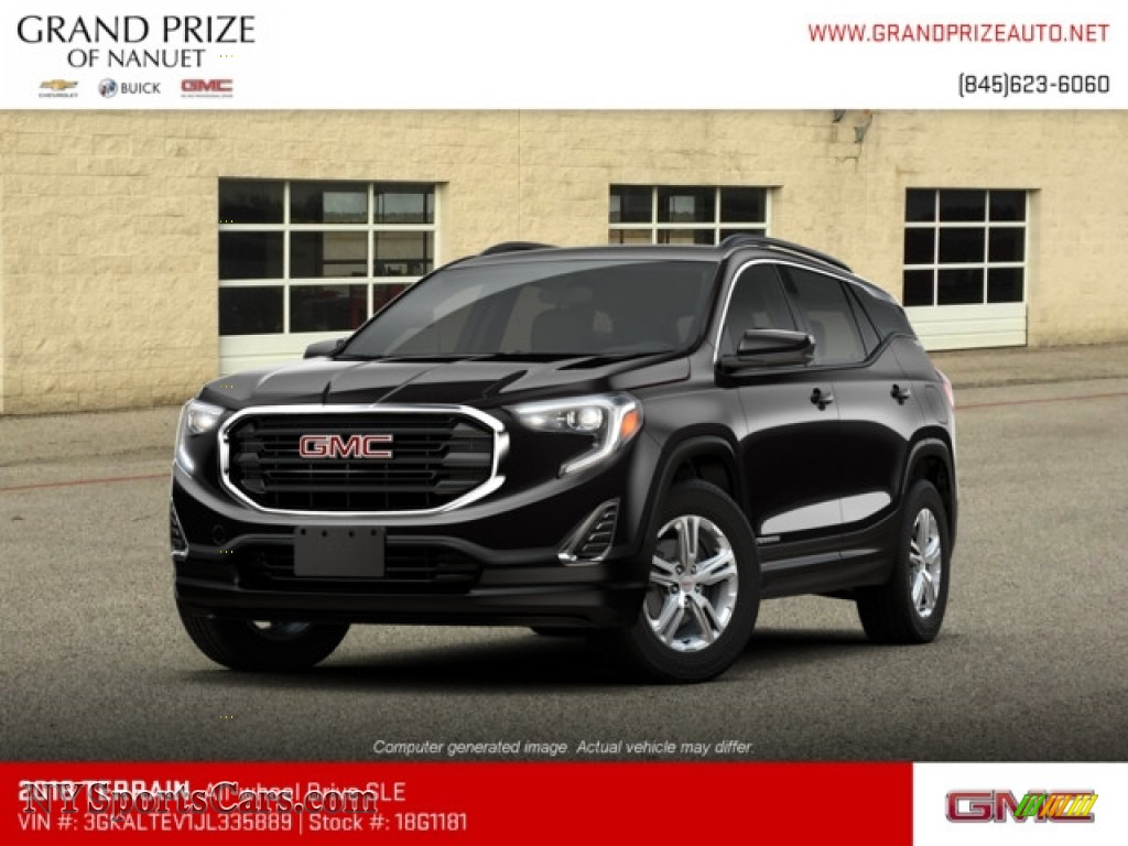Ebony Twilight Metallic / ­Jet Black GMC Terrain SLE AWD