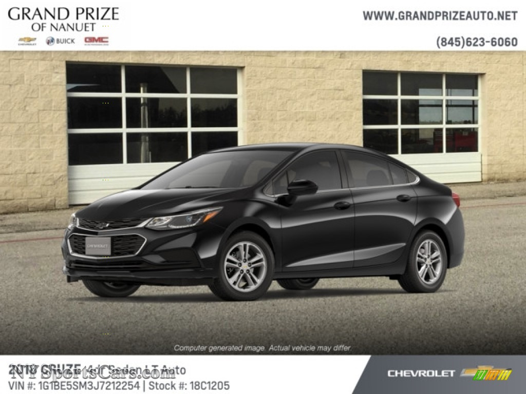 2018 Cruze LT - Mosaic Black Metallic / Jet Black photo #1