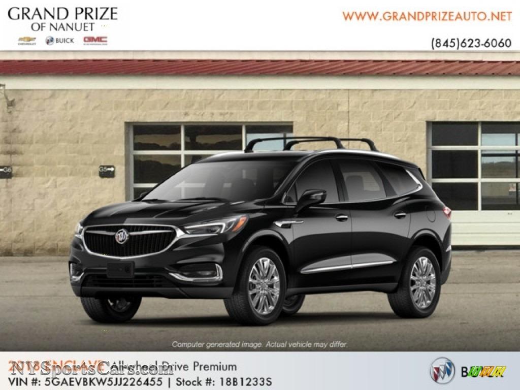 Ebony Twilight Metallic / Shale Buick Enclave Premium AWD