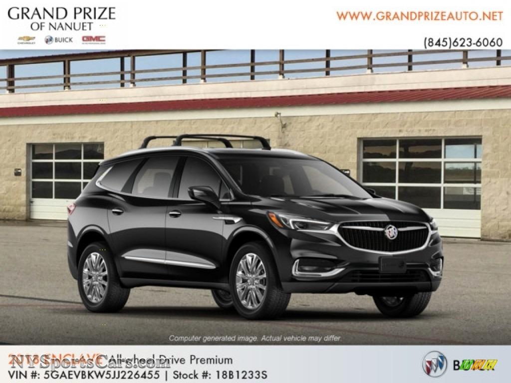 2018 Enclave Premium AWD - Ebony Twilight Metallic / Shale photo #4