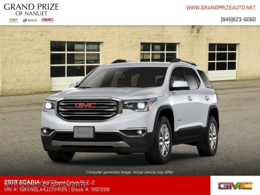 2018 Acadia SLE AWD - Quicksilver Metallic / Jet Black photo #1