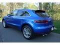Porsche Macan S Sapphire Blue Metallic photo #4