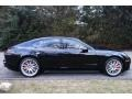 Porsche Panamera Turbo Jet Black Metallic photo #7