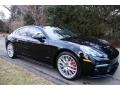 Porsche Panamera Turbo Jet Black Metallic photo #8