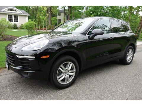 Black 2018 Porsche Cayenne