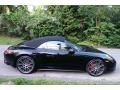 Porsche 911 Carrera 4S Cabriolet Black photo #7