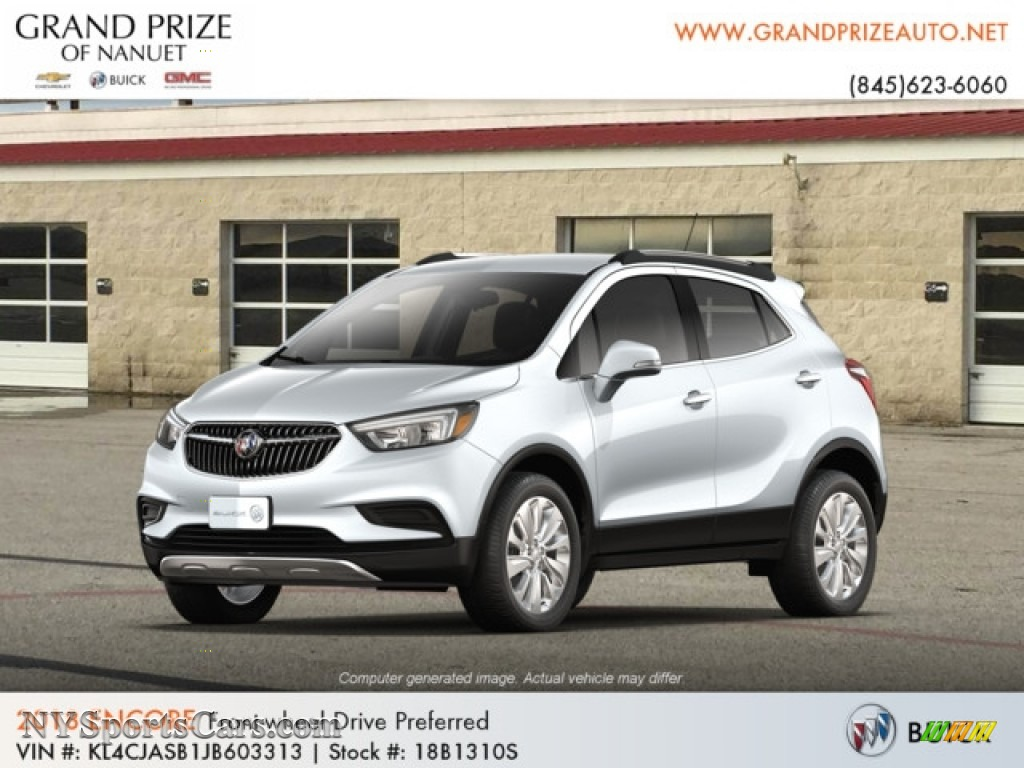 Quicksilver Metallic / Ebony Buick Encore Preferred