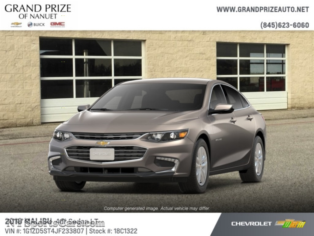 2018 Malibu LT - Pepperdust Metallic / Jet Black photo #1