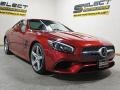 Mercedes-Benz SL 550 Roadster designo Cardinal Red Metallic photo #3