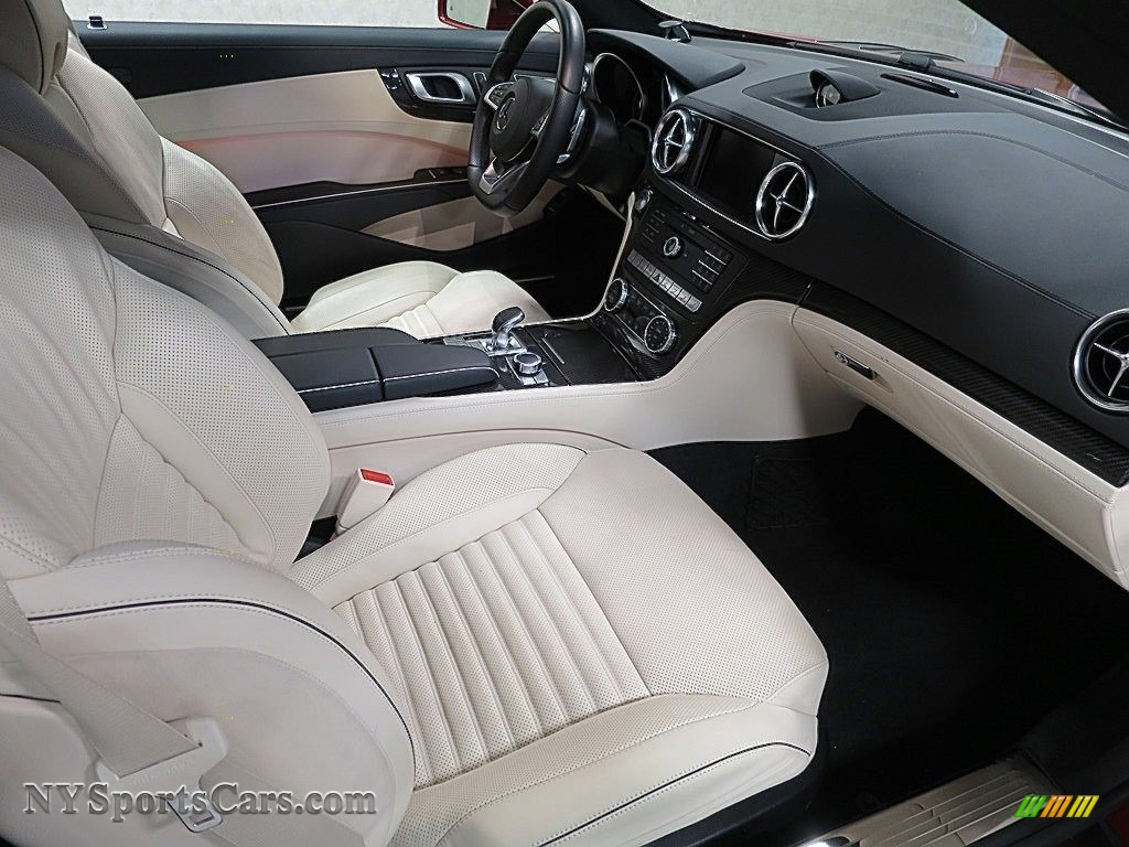 2017 SL 550 Roadster - designo Cardinal Red Metallic / Ginger Beige/Espresso Brown photo #22