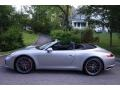 Porsche 911 Carrera S Cabriolet GT Silver Metallic photo #3
