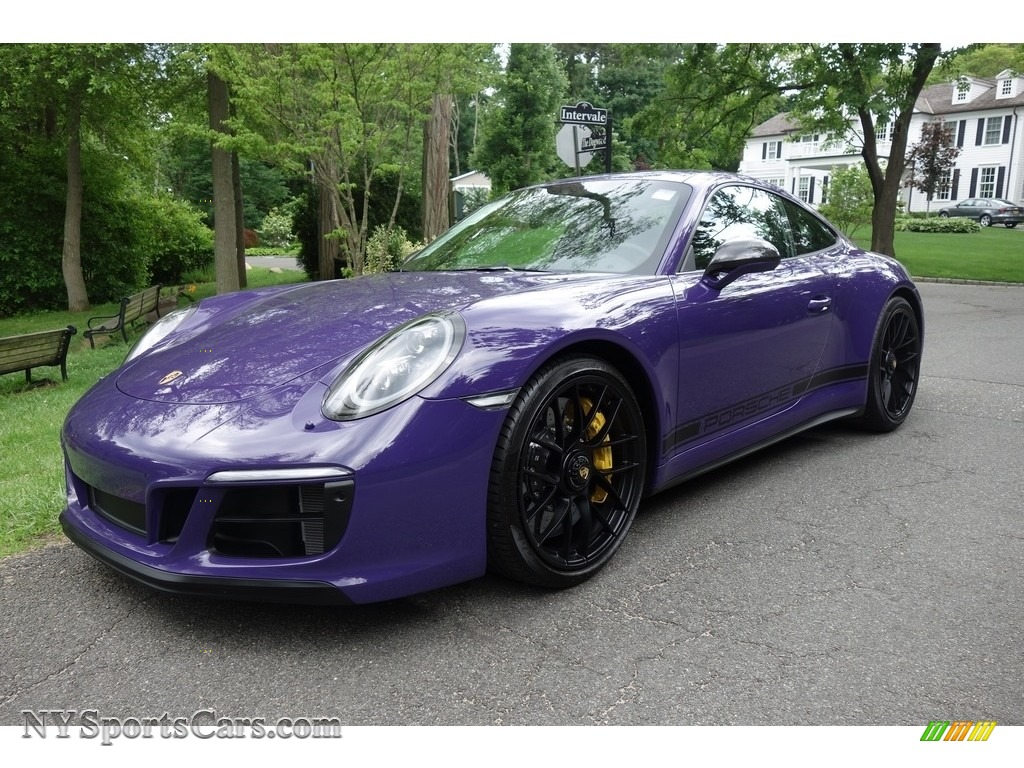2017 911 Carrera GTS Coupe - Ultraviolet / Black photo #1