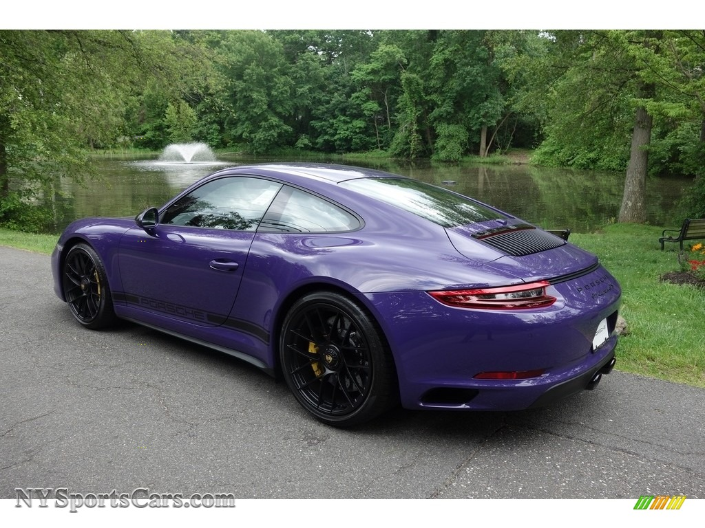 2017 911 Carrera GTS Coupe - Ultraviolet / Black photo #4